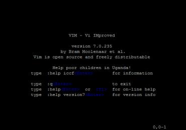Tuto video sur l'éditeur VIM/ VIM (linux)