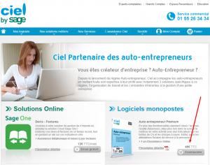 Prix logiciel ciel auto entrepreneur : arnaque
