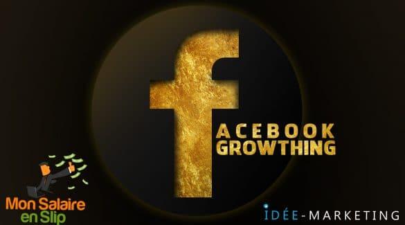 Formation Facebook GROWTH HACKING par Fred (@Investirenslip) et Jean-Luc