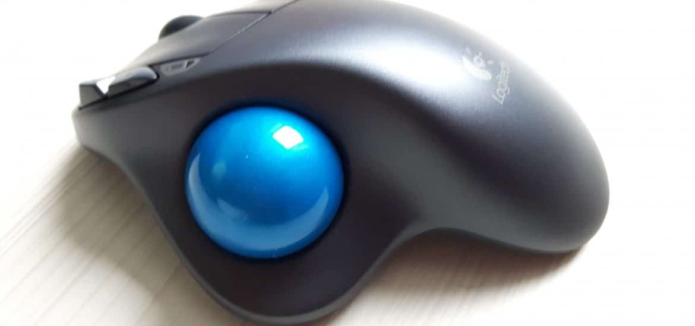 Test et avis sur la souris ergonomique LOGITECH Trackball M570