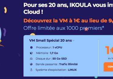 Cloud Ikoula One: un cloud avec gestion des serveurs simplifiée